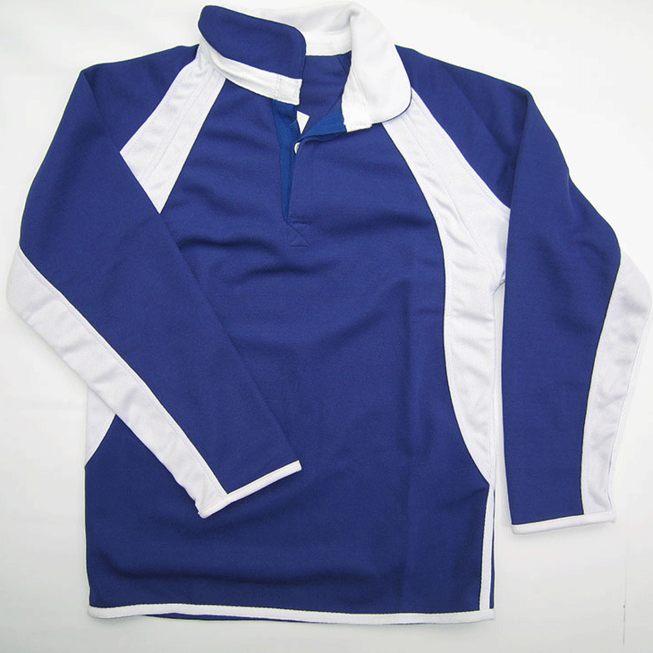 blue-and-white-rugby-sports-shirt