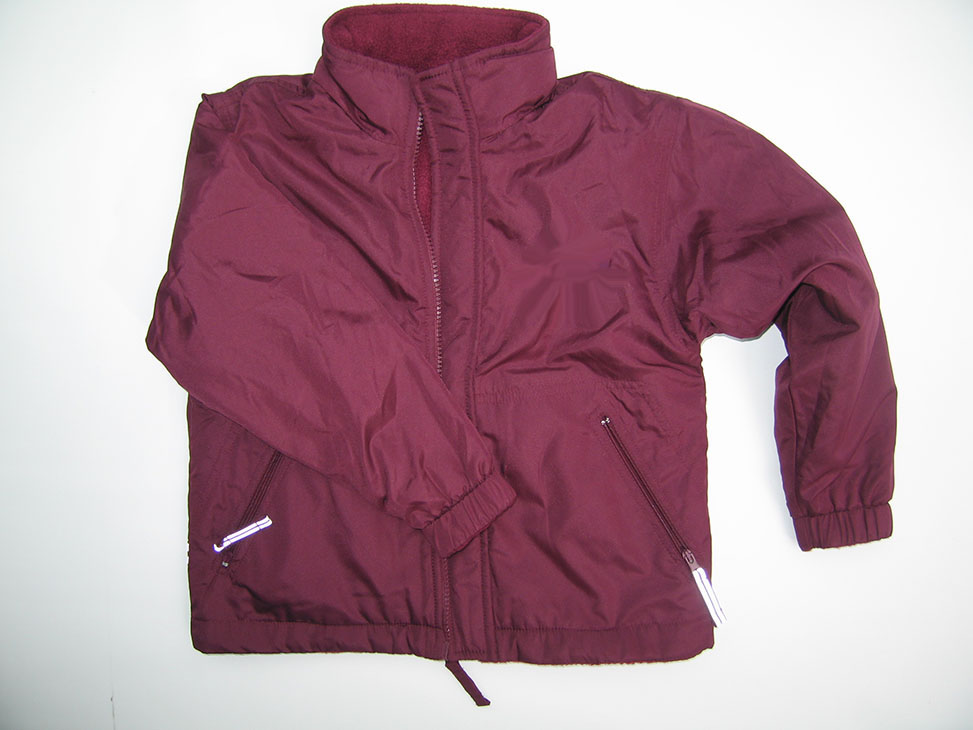 carlton maroon reversible jacket