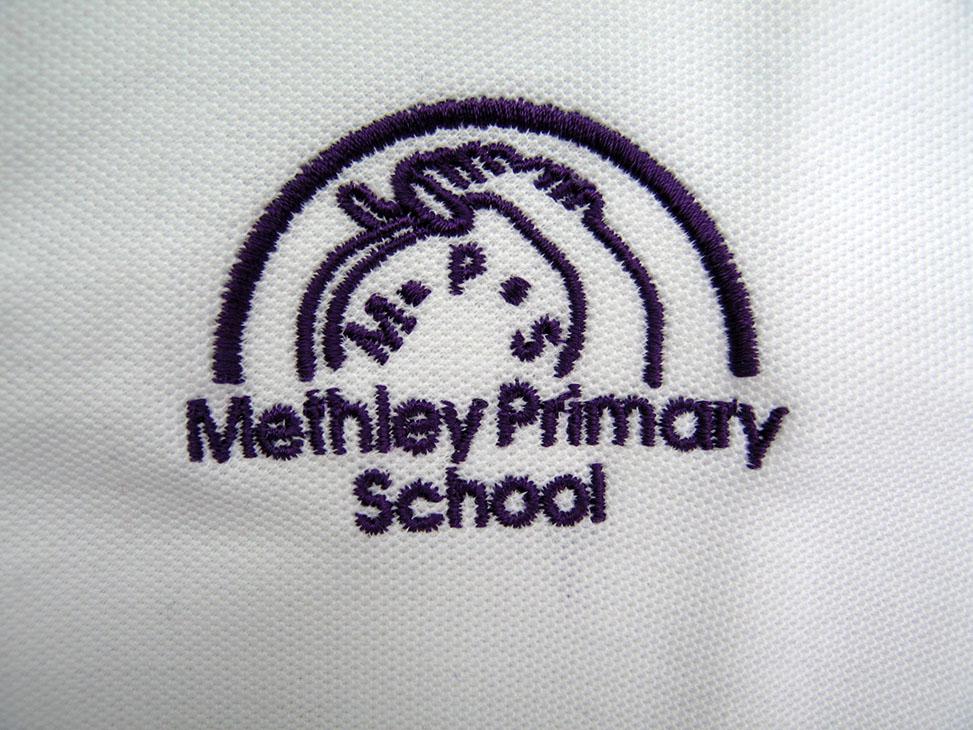 methley white logo