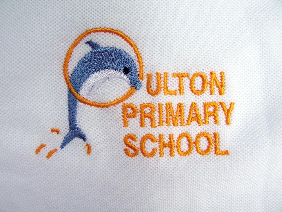 oulton white logo