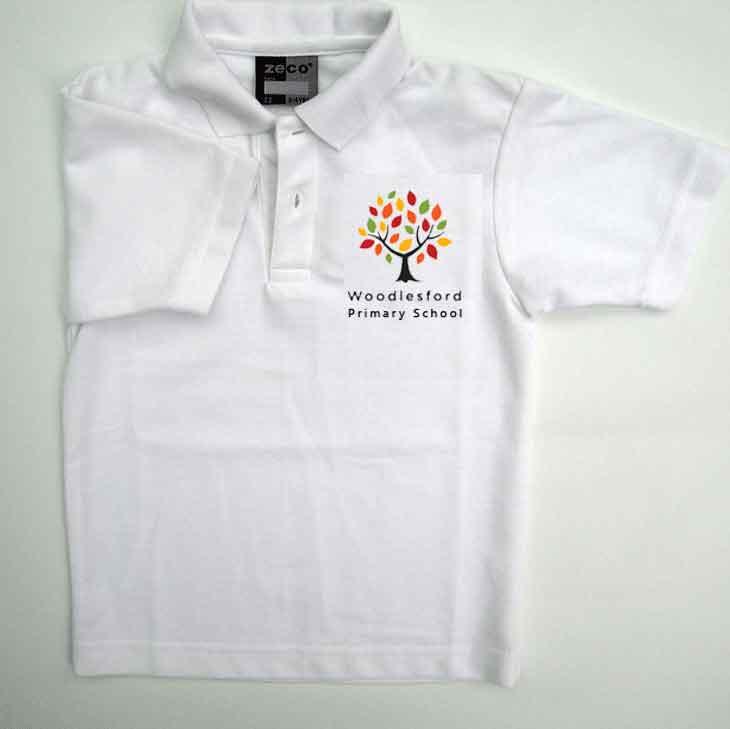 woodlesford-primary-white-polo-new-logo