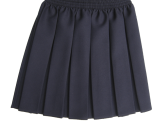 grey-pleated-skirt