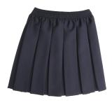 grey-pleated-skirt