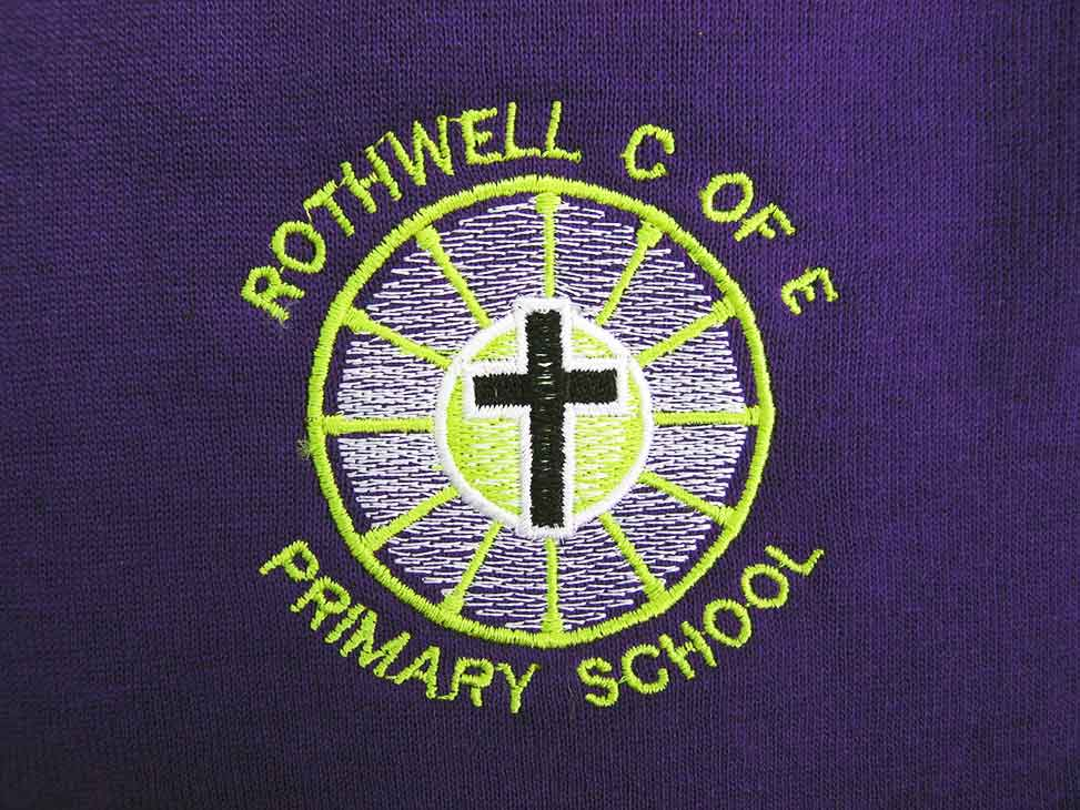 rothwell-c-of-e-old-badge