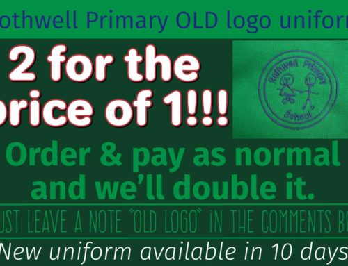 Rothwell Primary old logo SALE