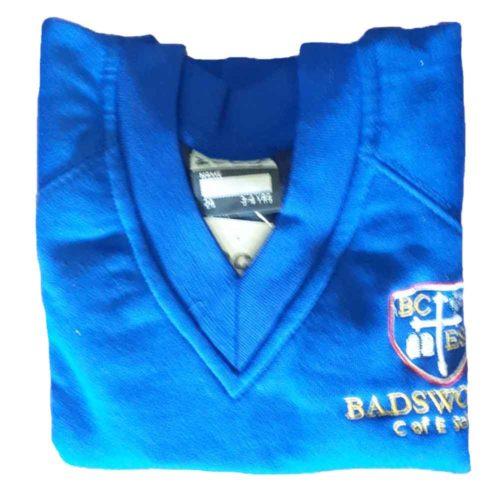 badsworth-blue-v-neck-sweatshirt