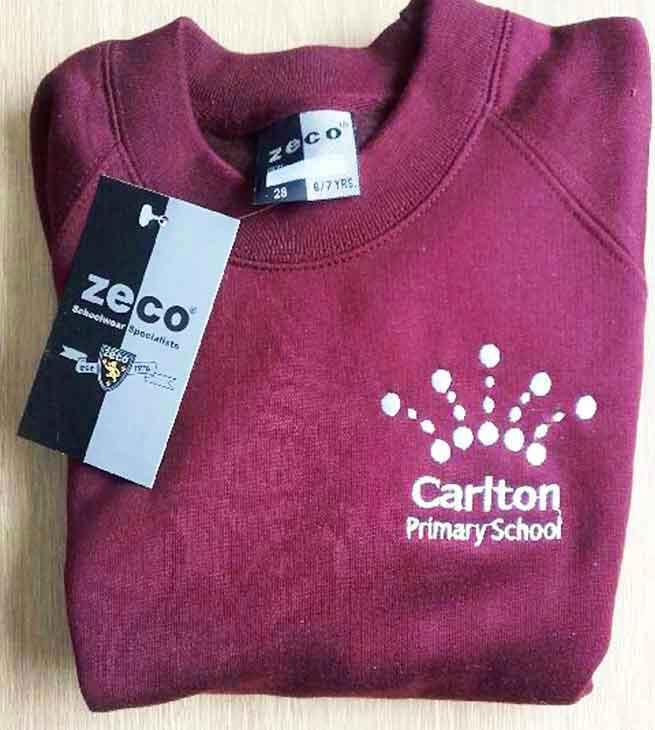 Carlton-Maroon-Sweatshirt