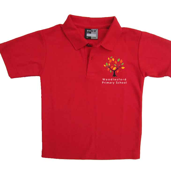 Woodlesford-primary-red-polo-new-logo
