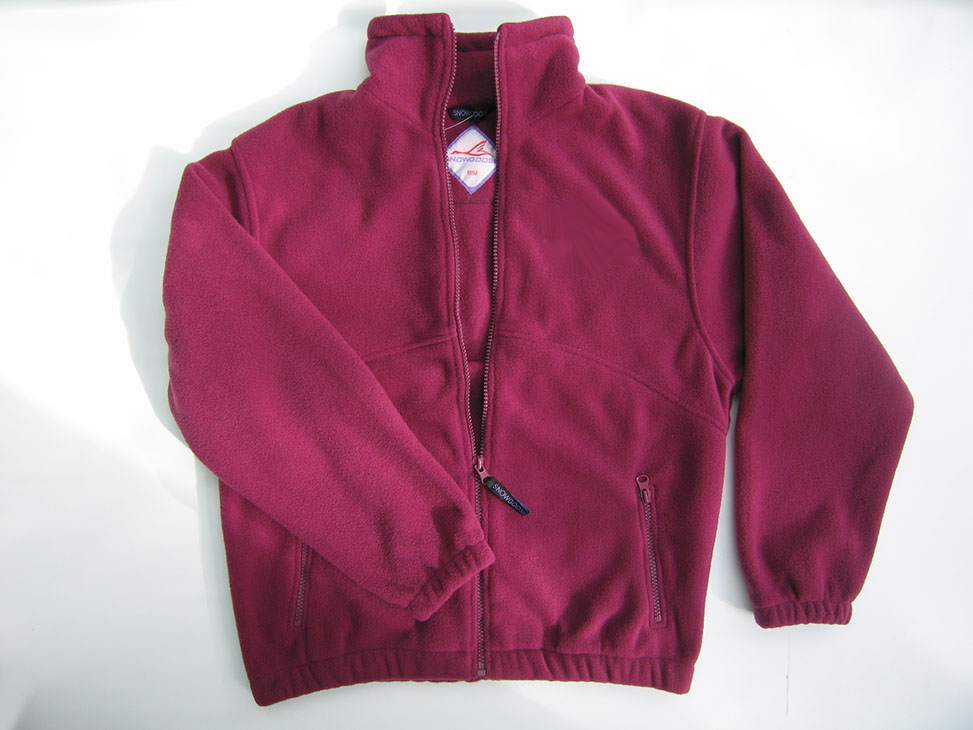 carlton maroon fleece