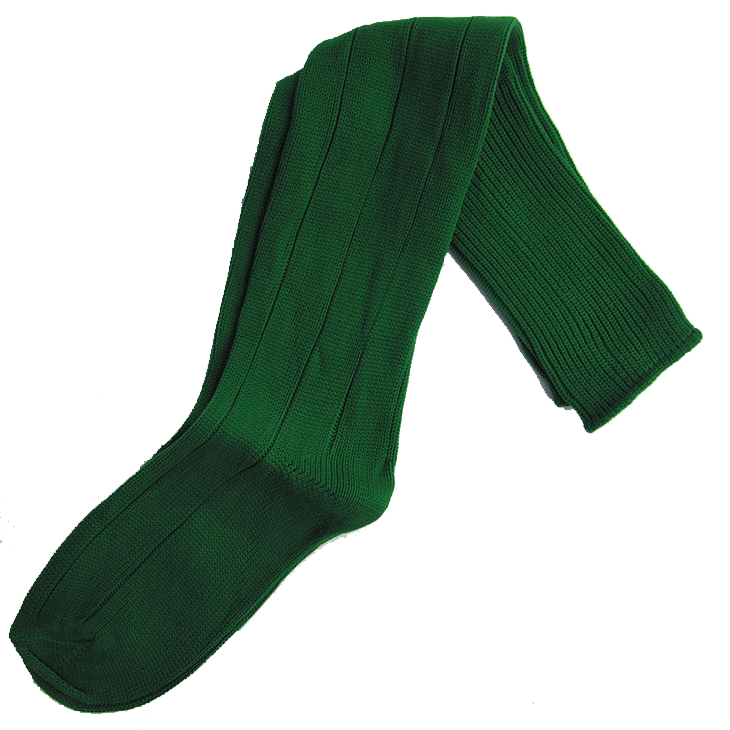 green-long-sports-socks