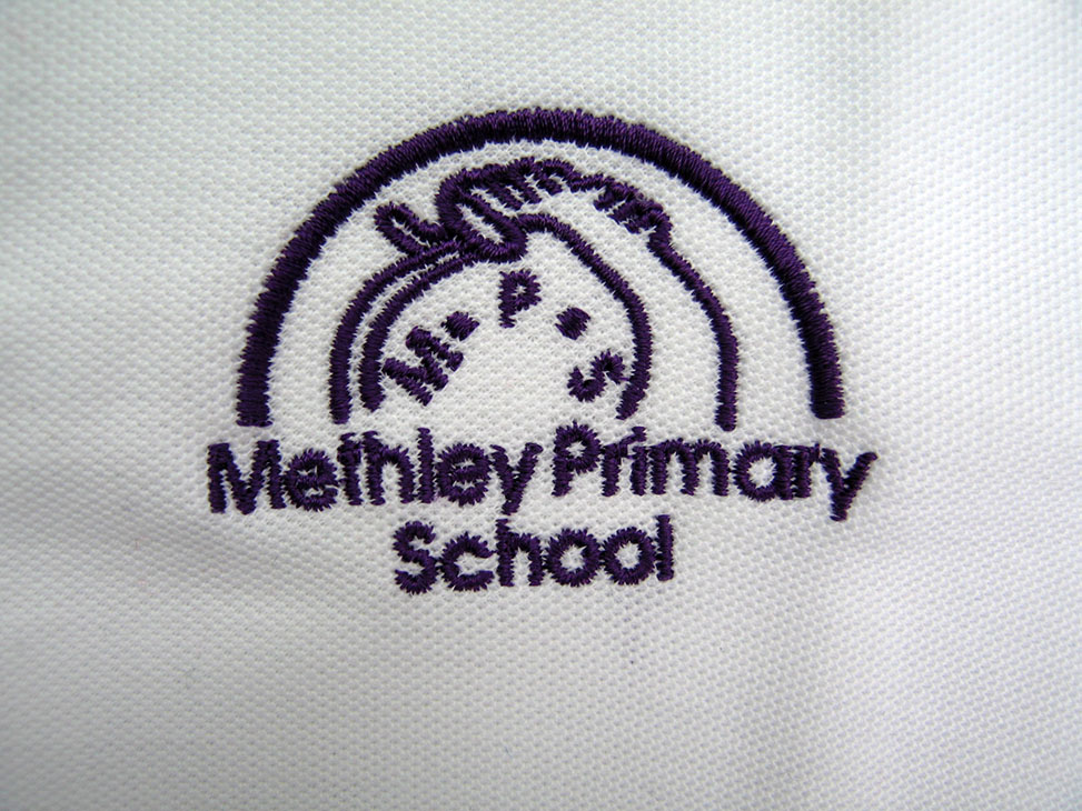 methley white logo