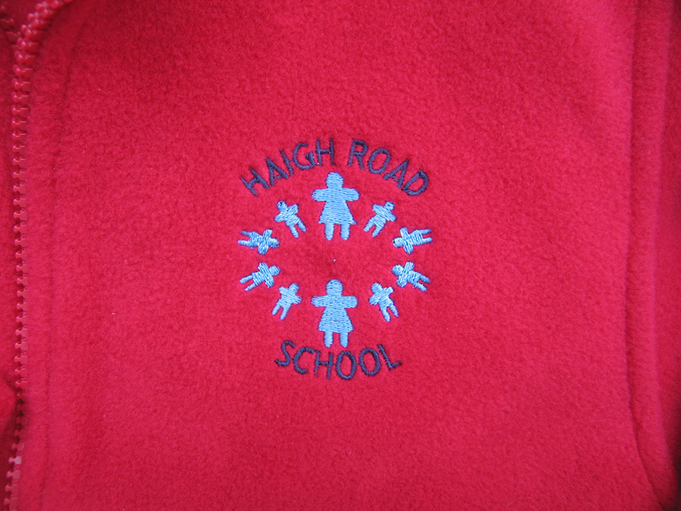 red fleece logo haigh road