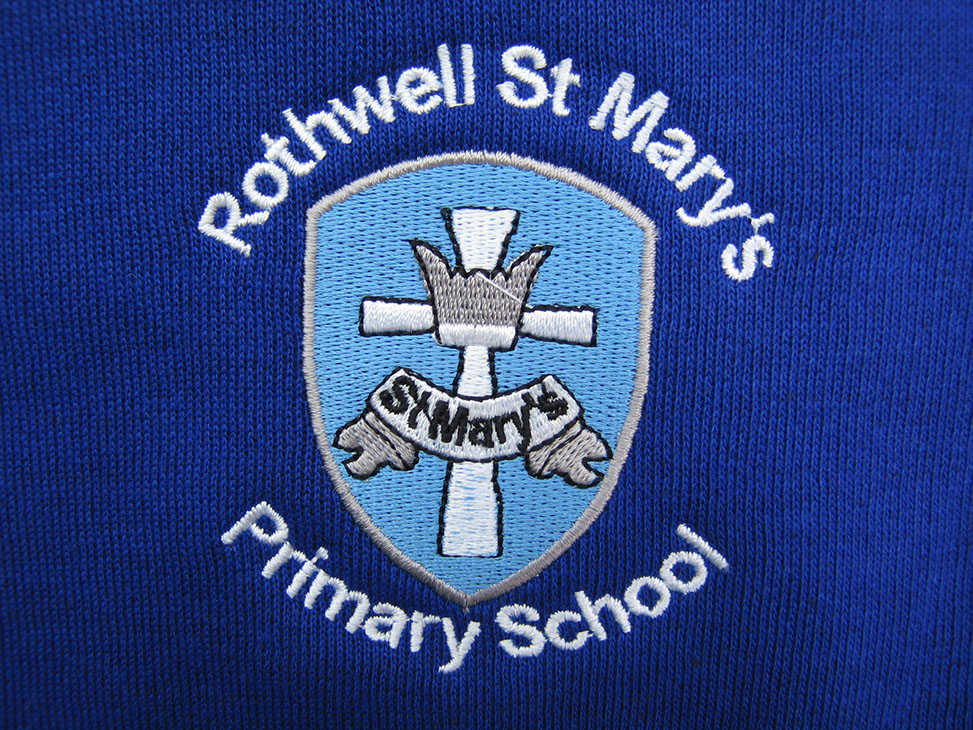rothwell st marys blue logo