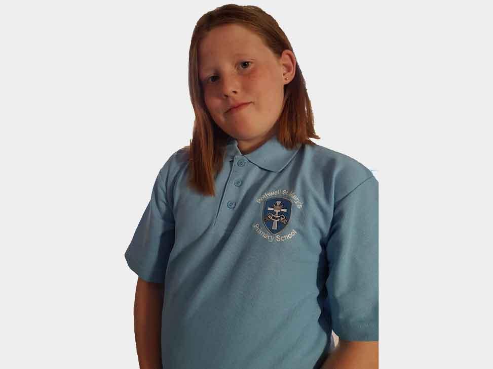 rothwell-st-marys-blue-polo