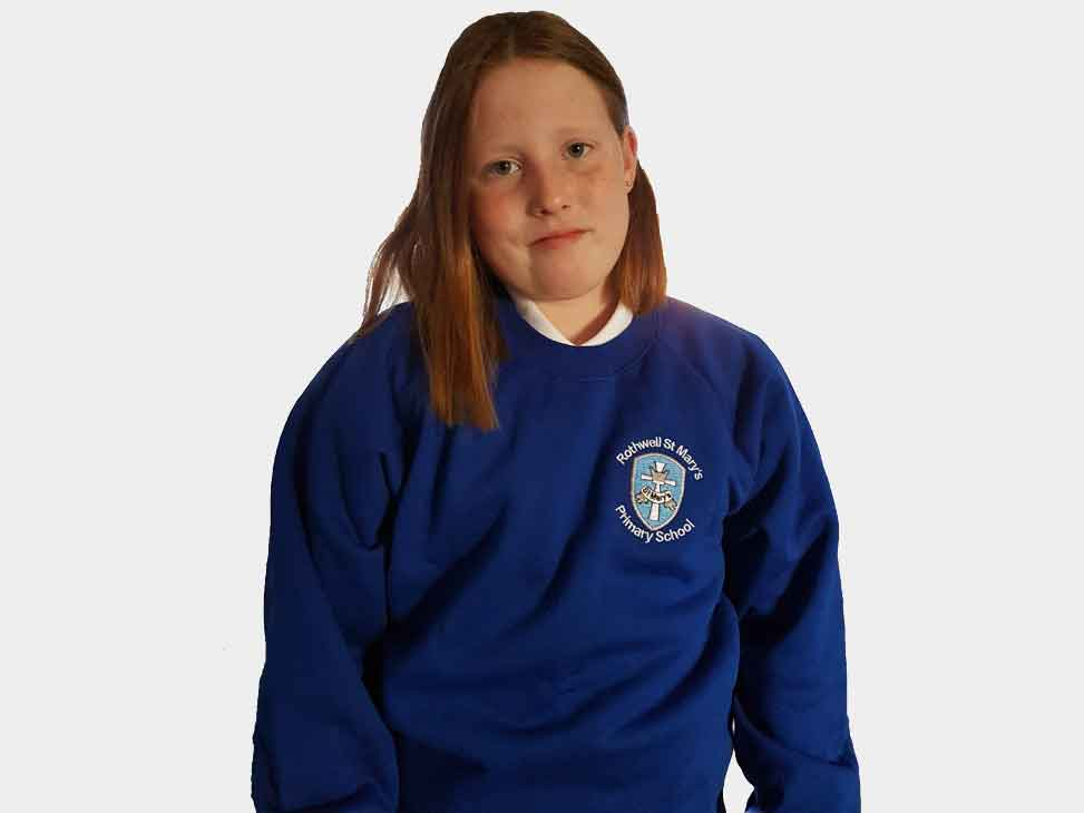 rothwell-st-marys-blue-sweatshirt