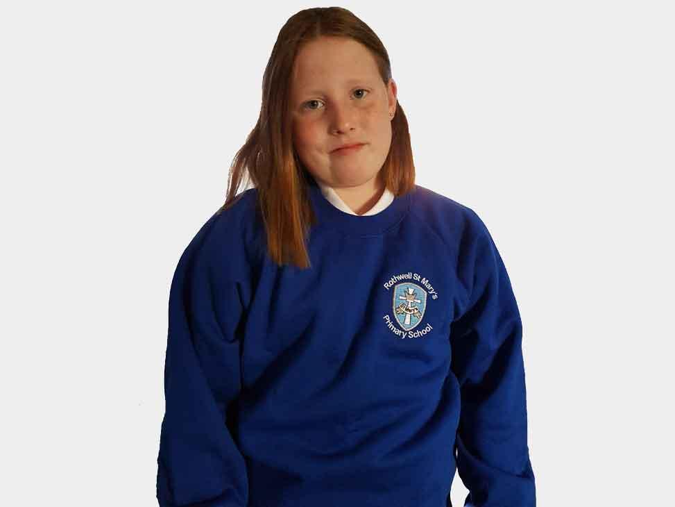 rothwell-st-marys-blue-sweatshirt