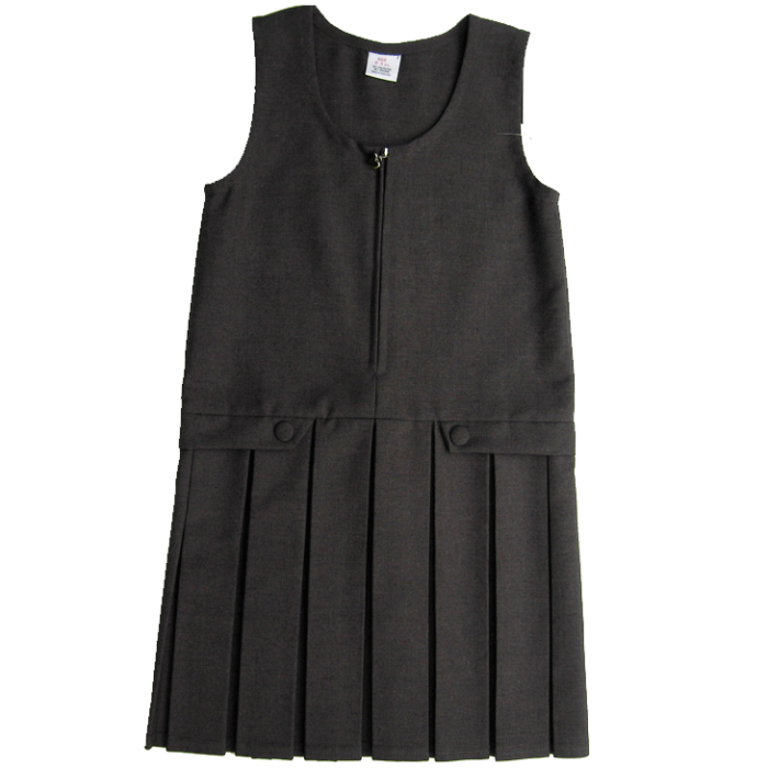 grey-pleated-pinafore