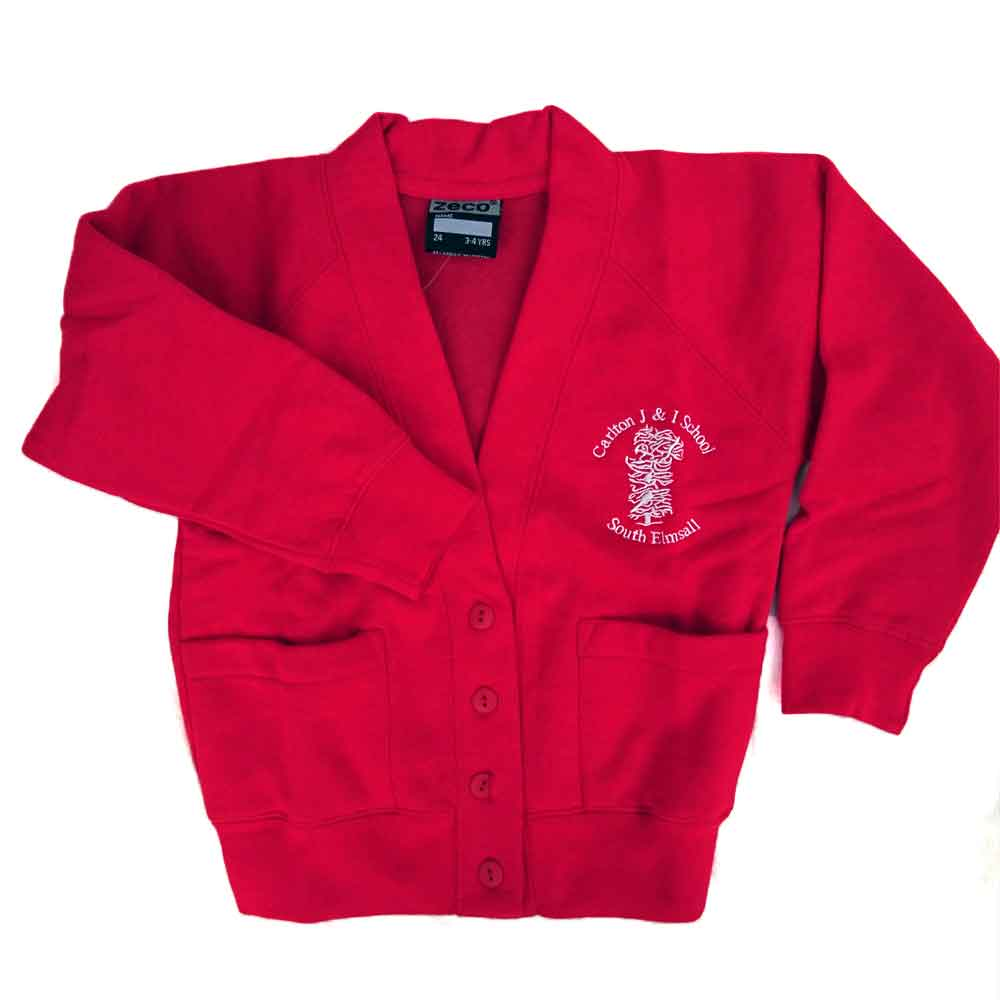 Carlton-J-and-I-red-sweat-cardigan